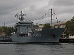 2013-08-30 Севастополь. Вспомогательное судно A512 Mosel ВМС Германии (19).JPG