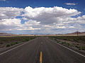 2014-07-18 16 10 18 View east along U.S. Route 6 about 78.1 miles east of the Esmeralda County Line in Nye County, Nevada.JPG