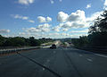 2014-08-28 09 45 34 View north along Interstate 787 near milepost 0.7 in Albany, New York.JPG