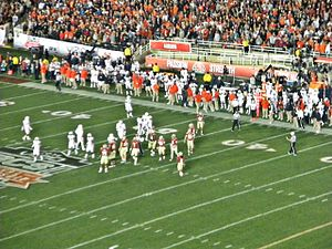 2013 Southeastern Conference football season - The Florida State Seminoles defeated the Auburn Tigers at the Rose Bowl, Pasadena, California