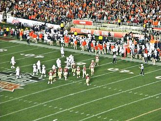 2014 BCS National Championship Game - The Florida State Seminoles defeated the Auburn Tigers at the Rose Bowl, Pasadena Calif.