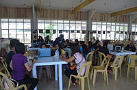 2014 Waray Wikipedia Edit-a-thon 17.JPG
