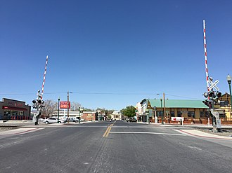 Lovelock, Nevada - Main Street in Lovelock NV