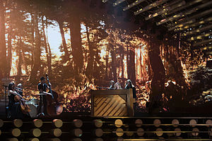 Ireland in the Eurovision Song Contest 2015 - Molly Sterling at a dress rehearsal for the second semi-final