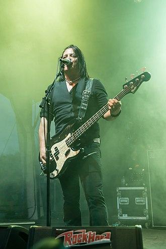 Adler's Appetite - Founding member, bassist Robbie Crane.