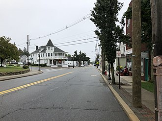 Midland Park, New Jersey - County Route 84 (Godwin Avenue), one of the main roads through Midland Park