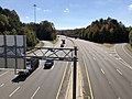 2018-10-30 11 39 56 View south along Virginia State Route 286 (Fairfax County Parkway) from the overpass for Interstate 66 in Fair Lakes, Fairfax County, Virginia.jpg