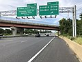 2019-08-19 17 26 15 View north along U.S. Route 29 (Columbia Pike) at Exit 17 (Seneca Drive, Shaker Drive) in Columbia, Howard County, Maryland.jpg
