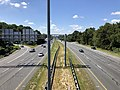 2019-09-03 11 35 54 View south along U.S. Route 29 (Columbia Pike) from the overpass for Maryland State Route 108 (Clarksville Pike-Old Annapolis Road) in Columbia, Howard County, Maryland.jpg