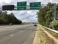 2019-10-07 15 47 06 View north along Virginia State Route 243 (Nutley Street) at the exit for Interstate 66 EAST (Washington) on the edge of Oakton and Merrifield in Fairfax County, Virginia.jpg