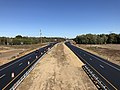 2019-10-10 10 51 07 View north along Maryland State Route 5 (Branch Avenue) from the overpass for Spine Road in Brandywine, Prince George's County, Maryland.jpg