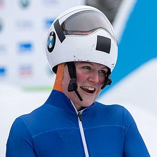 Kimberley Bos Dutch skeleton racer