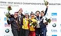 2020-03-01 Medal Ceremony Skeleton Mixed Team competition (Bobsleigh & Skeleton World Championships Altenberg 2020) by Sandro Halank–041.jpg