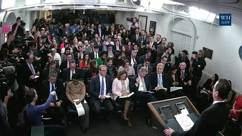 File:21417 White House Press Briefing - Tareck El Aissami sanctions.webm