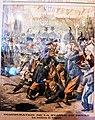 21 Dessin de Le Petit journal sur les incidents de Tréguier en 1903 liés à l'inauguration de la statue d'Ernest Renan.JPG