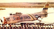21st Fighter-Bomber Group - WC AC - North American F-86F-35-NA Sabre - 52-5222