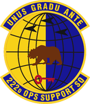 222 Operation Support Sq emblem.png