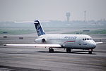 250ad - Aerocaribe DC-9-31, XA-TVC@MEX,24.07.2003 - Flickr - Aero Icarus.jpg