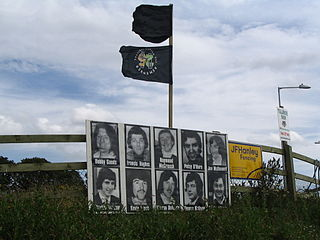 1981 Irish hunger strike Protest by Irish republican prisoners in Northern Ireland, in which ten died
