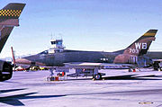 4536th Fighter Weapons Squadron - North American F-100D-30-NA Super Sabre 55-3703