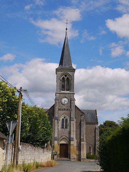 L'église Saint-Maxenceul.