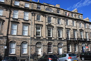 David Paton (architect) - The magnificent Paton family home at 66 Great King Street, Edinburgh