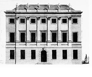 1721 in architecture - Image: 7 Burlington Gardens (Uxbridge Queensberry House) c.1721