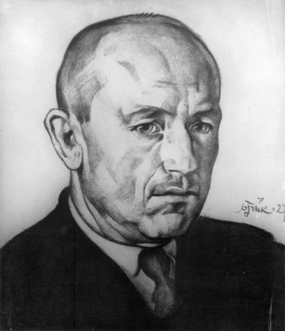 A. H. Tammsaare by Nikolai Triik