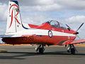 A23-059 Pilatus PC-9A RAAF Roulettes Aerobatic Team (8428203532).jpg