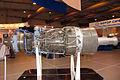 AI-336-2-8 gas-turbine drive at Engineering Technologies 2012 Side.jpg