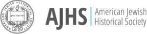 American Jewish Historical Society - Image: AJHS logo horizontal