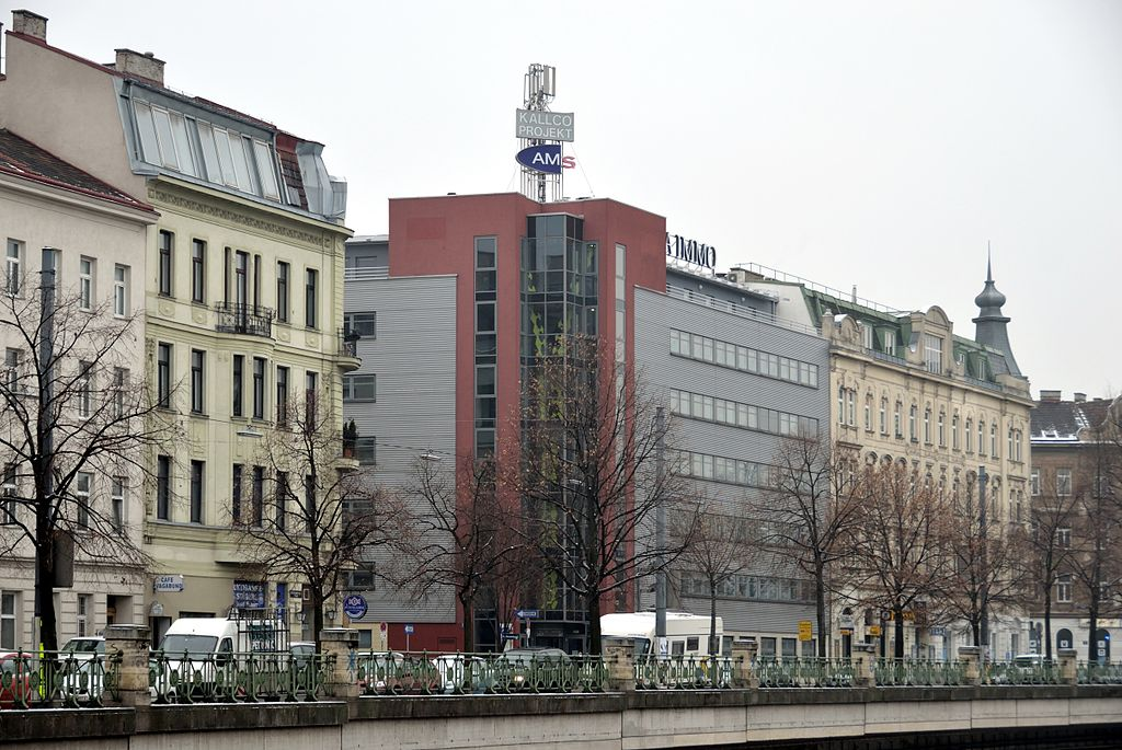 Meidling Austria  city photo : The Austrian employment service, office at Schönbrunnerstraße 247 ...
