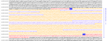 an analysis of the the role of dna sequence in the occurrence of inherited diseases Our personal genetic analysis includes an analysis of frequent diseases role in passing hereditary talk about the change in the dna sequence.