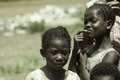 ASC Leiden - F. van der Kraaij Collection - 01 - 007 - Saye Town. Elementary school two pupils - Monrovia, Sinkor, Montserrado County, Liberia, 1976.tiff