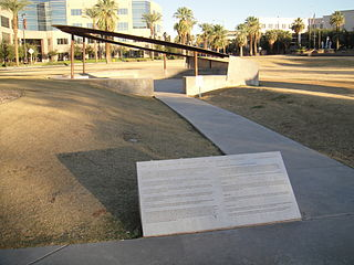 9/11 Memorial (Arizona) a state memorial to the events and aftermath of the September 11 attacks