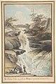 A Bridge on the Aar, at the Foot of the Grimsel, in the Canton of Berne MET DP804175.jpg