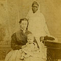 A European lady with child and Ayah in the 1860s (2).jpg