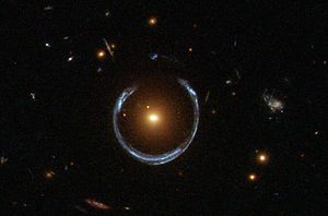A Horseshoe Einstein Ring from Hubble.JPG