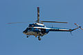 A Mil Mi-2 of the Police overflying Krakow on the day of Lech Kaczyński's funeral.jpg