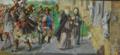 A Rainha Santa Isabel em peregrinação a Santiago de Compostela.png