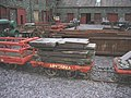 A Sledge and a Loader's Wagon - geograph.org.uk - 296756.jpg
