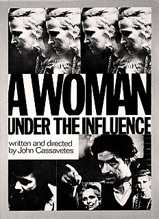 <i>A Woman Under the Influence</i> 1974 film by John Cassavetes