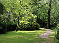 A garden path and lawn Gibberd Garden Essex England.JPG
