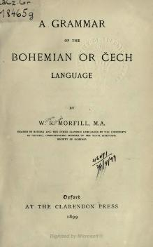 A grammar of the Bohemian or Cech language.djvu