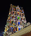 A night view of a lighted Sri Mariamman Temple.jpg