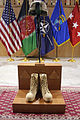 A traditional battlefield cross is displayed during a Memorial Day ceremony May 27, 2013, at Kabul International Airport in Kabul, Afghanistan 130527-A-VC572-754.jpg
