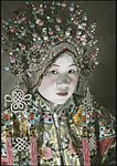 A woman wearing a headdress (6025232932).jpg