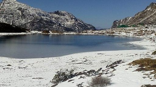 A wonderful lake near Tisri udasi, Tawang, Arunachal Pradesh