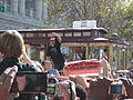 Aaron Rowand at Giants 2010 World Series victory parade 1.JPG