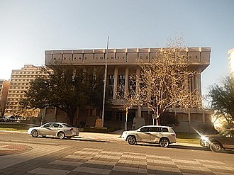Midland County, Texas - Former Midland County courthouse marked for razing
